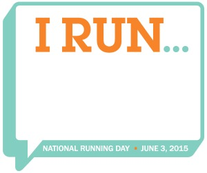 National Running Day 2015 logo